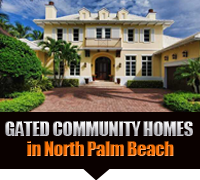 North Palm Beach Gated Community Real Estate