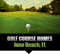 Juno Beach Golf Course Homes For Sale