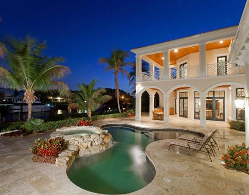 Celebrities living in jupiter fl for Luxury houses in florida