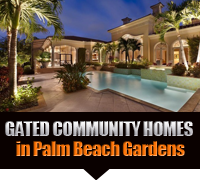 Palm Beach Gardens Gated Community Real Estate