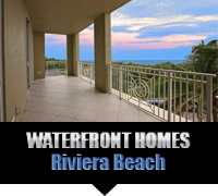 Riviera Beach Waterfront Homes For Sale