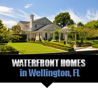 Waterfront Homes For Sale in Wellington, FL